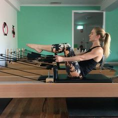 """199 Likes, 9 Comments - Premium Pilates and Fitness (@premiumpilatesandfitness) on Instagram: """"I've got a massive smile on my face during this set as I put the spring up and cannot stop shaking!…"""""""