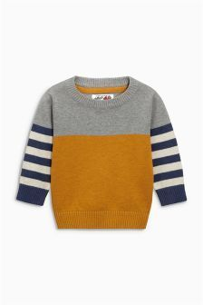 Buy Younger Boys knitwear from the Next UK online shop – TRICOT - Kindermode Baby Boy Knitting, Knitting For Kids, Start Knitting, Knit Baby Sweaters, Boys Sweaters, Kids Knitting Patterns, Baby Cardigan, Boy Outfits, Kids Fashion
