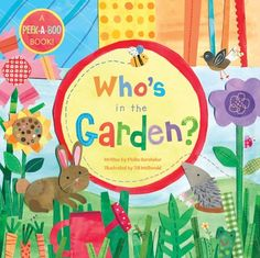 "In this delightful peek-a-boo book, children are invited to look through the holes on every other page to answer the repeating refrain, ""Who's coming to see how my garden grows?"" The energetic, rhyming text introduces all sorts of creatures that are busy in the garden."