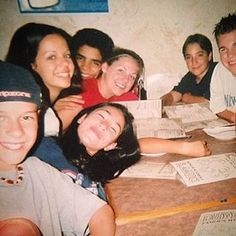 """Although Manny wasn't there, the actress who played her, Cassie Steele, shared this gem of a throwback snap earlier this year. 