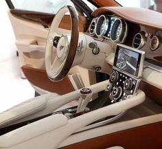 Bentley exp 9f interiors!