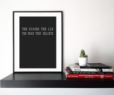 The Lie  The Wire Printable Graphics  Instant Download di HubLab