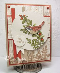 It's a Stamp Thing: Sweet Sunday.....Hey There  Stampin' Up!