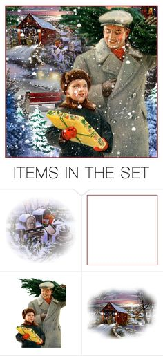 """""""Christmas Gift"""" by wswllcstwrt ❤ liked on Polyvore featuring art"""