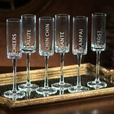 Celebration Champagne Flute Set of 12. #laylagrayce #tabletop #entertaining #new