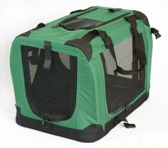 "Portable Soft Pet Carrier or Crate or Kennel for Dog, Cat, or other small pets. Great for Travel, Indoor, and Outdoor (Moss Green, Large: 36""x25""x25"") Unknown http://www.amazon.com/dp/B009T1PX1C/ref=cm_sw_r_pi_dp_VdTUtb0FG58TDD2R"