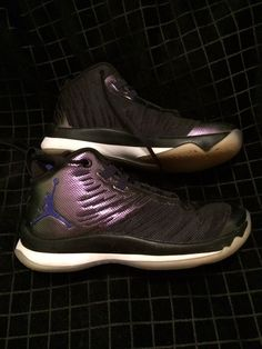e8444ce4ad2 Jordan Super Fly 5 Space Jam Blake Griffin Grade School Youth 6.5 Black purple