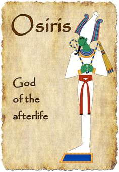 Ancient Egyptian Gods - Treetop Displays - Printable EYFS, KS1, KS2 classroom displays & primary teaching resources