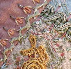 #crazyquilt #quilt embroidery