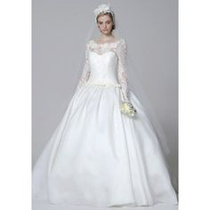 WEDDING GOWN long sleeves