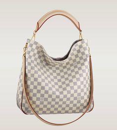 3ae7bc790b77 Louis Vuitton Damier Azur Canvas Soffi bag Size  x x inches Product I.