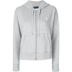 Polo Ralph Lauren zip up hoodie (2.375 ARS) ❤ liked on Polyvore featuring tops, hoodies, grey, polo ralph lauren hoodie, polo ralph lauren hoodies, gray hoodie, polo ralph lauren and hooded sweatshirt