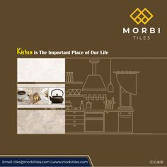 Morbitiles is a dedicated titles sourcing platform in India. We bridge the gap between Tiles Manufacturer, Architect and Builders. We make tiles procurement and selling journey simpler, smarter and faster! Room Tiles, Kitchen Tiles, Glossy Kitchen, Wall Tiles Design, Vitrified Tiles, Tile Manufacturers, Outdoor Tiles, Our Life, High Gloss