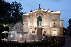 Old theatre in Bielsko-Biała, our city :)