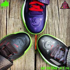 bc025375b63f Online Hot Nike KD 4 Un Nerf Custom Kevin Durant Cheap sale ...