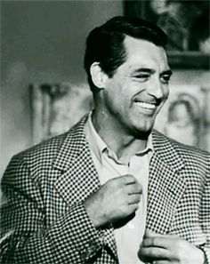 Cary Grant, great smile!