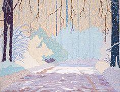 Radák Eszter - Majd, ha piros hó esik! (Na jó, kevertem bele némi fehéret, de akkor is piros! Fest.)
