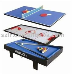3 In 1 Multi Game Table $62~$200
