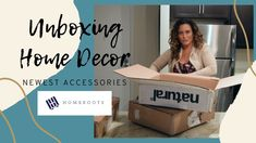 Home Staging TV: Unboxing HomeRoots Home Decor On this episode of Home Staging TV we're showcasing a few home decor products from home staging vendor HomeRoo. Home Staging, Successful Relationships, Past Life, Toy Chest, Storage Chest, Tv, House Styles, Collaboration, Forget