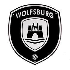 Wolfsburg Crest Sign