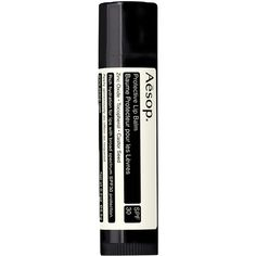 Aesop Protective Lip Balm SPF 30 (5.360 HUF) ❤ liked on Polyvore featuring beauty products, skincare, lip care, lip treatments, beauty, fillers, makeup, lips, cosmetics and aesop