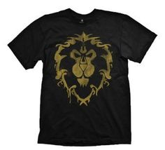 Jinx | World Of Warcraft T Shirt - Alliance Spray | Officially Licenced