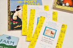 "Photo 1 of 7: vintage children's books; Golden Books / Baby Shower/Sip & See ""Golden Books Baby Shower"""