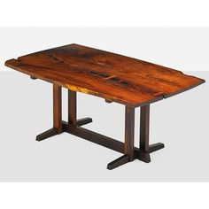 GEORGE NAKASHIMA Rosewood Frenchman's Cove table - Price Estimate: $160000 - $190000
