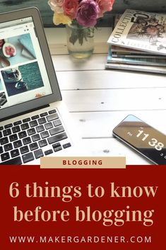 6 things to know before blogging E Commerce, Things To Know, Things That Bounce, How To Start A Blog, How To Make Money, Website Ranking, I Wish I Knew, Like Instagram, Blogging For Beginners