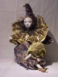 Harlequin doll collection - Google Search