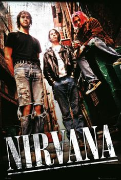"""Another Nirvana poster. Grunge never dies! I'm looking forvard to """"borrow"""" this poster from my sister, it has great contrasts and overall look."""