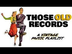 Those Old Records: A Vintage Music Playlist - YouTube Old Records, Music Albums, Vintage Music, Oregon Coast, Good Music, Feel Good, Blues, Feelings, My Love