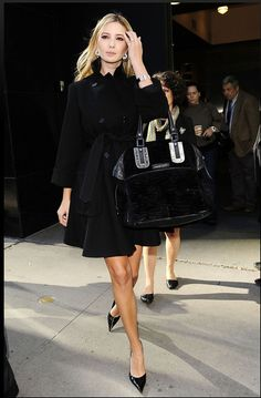 Ivanka. My style icon. Completely true!! Just add a little rocker edge and I am completely after her closet! lol