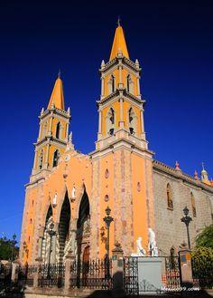 Mazatlan Cathedral in Sinaloa, Mexico