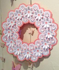 IDEASTARS ghirlanda di margherite - daisy wreath