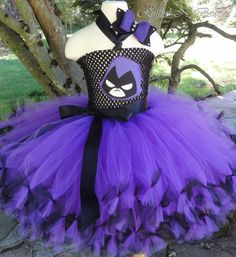 Raven Teen Titans tutu inspired costumeWith by RufflesNBowties