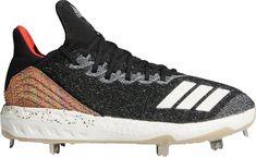 new style d64a9 e69b3 adidas Men s Icon 4 Fusion Metal Baseball Cleats, Black  baseballcleats  Baseball Gear, Metal