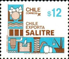 Nitrate Chile 1986 Roman Numerals, Postage Stamps, Ideas, World, Stamps, South America, Bicycle Kick, Greece, September