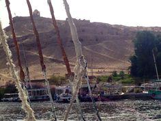 #Felucca sailing,  #Nile, #Aswan, #Egypt, #AncientCivilizationsAdventure, May 2014