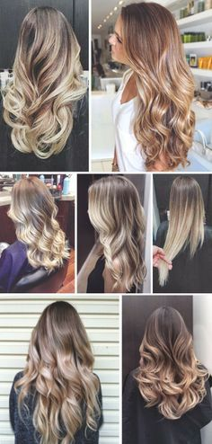 How to Chic: OMBRE HAIR INSPIRATION