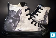 """Batman: Arkham City"" Custom Design Options Now Available From Converse"