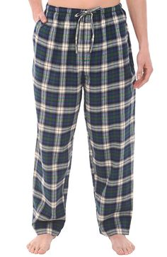 Mens Light Blue Playful Fox Cotton Loungepants BIG SIZES AVAILABLE