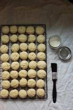 Sugar Cookies laced with vanilla