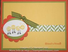 Bug Me (with Teeny Tiny Wishes) by Stampin' Up!  Created by Amy Watson
