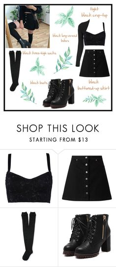 """""""step by step 💀"""" by spacemermalien ❤ liked on Polyvore featuring Dolce&Gabbana, Miss Selfridge, Aéropostale, WearAll, outfit, nugoth, instagraminspired and tumblraesthetics"""