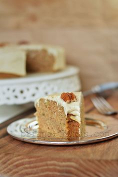 Zucchini Spice Cake with Browned Butter Cream Cheese Frosting