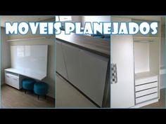 MOVEIS PLANEJADOS DO APARTAMENTO - YouTube