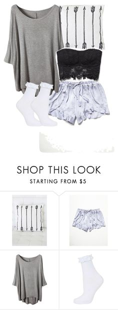 """Allison Argent inspired sleepwear"" by xzozebo ❤ liked on Polyvore featuring Forever 21, Free People and Topshop"