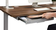 Super under the desk storage drawers 47 ideas Under Desk Storage, Craft Storage Box, Food Storage Cabinet, Small Storage, Storage Boxes, Storage Spaces, Diy Drawers, Desk With Drawers, Storage Drawers