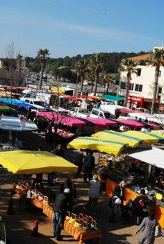 Gruissan ...market day